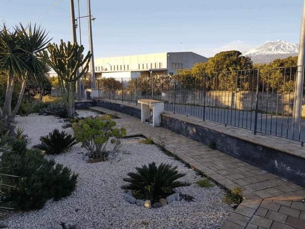 b&b villa valentina taormina giardino piante grasse